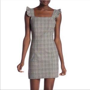 Jack by BB Dakota Black White Plaid Dress